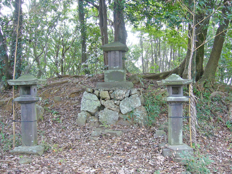 内空閑城跡の写真